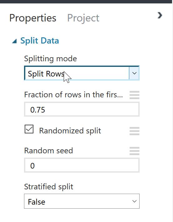 Split Dataモジュール
