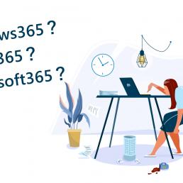Windows365?Office365?Microsoft365?マイクロソフトの「365」製品の違いをまとめてみた