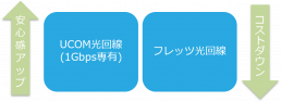 2種類の光回線プラン
