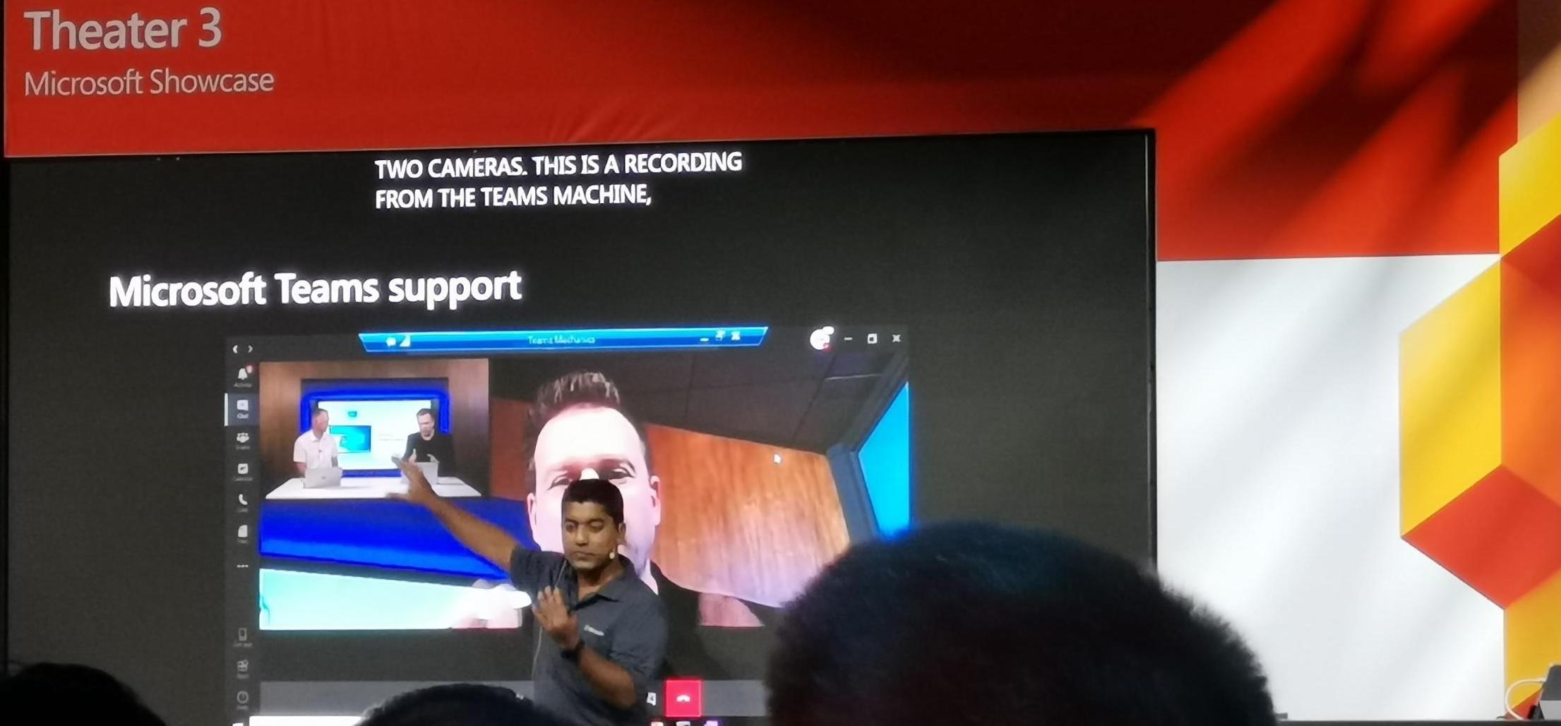 Microsoft Teamsビデオ会議のサポート