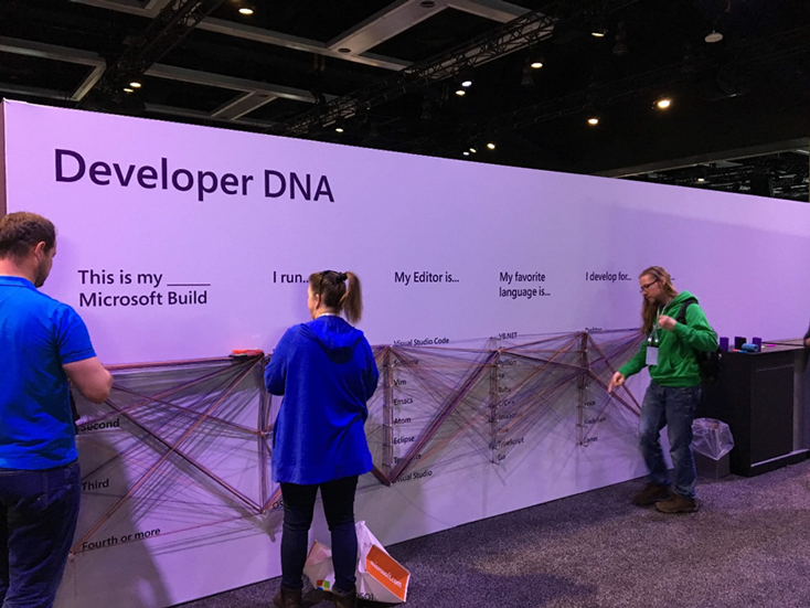 Microsoft Build会場