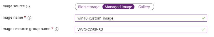 イメージソースの選択