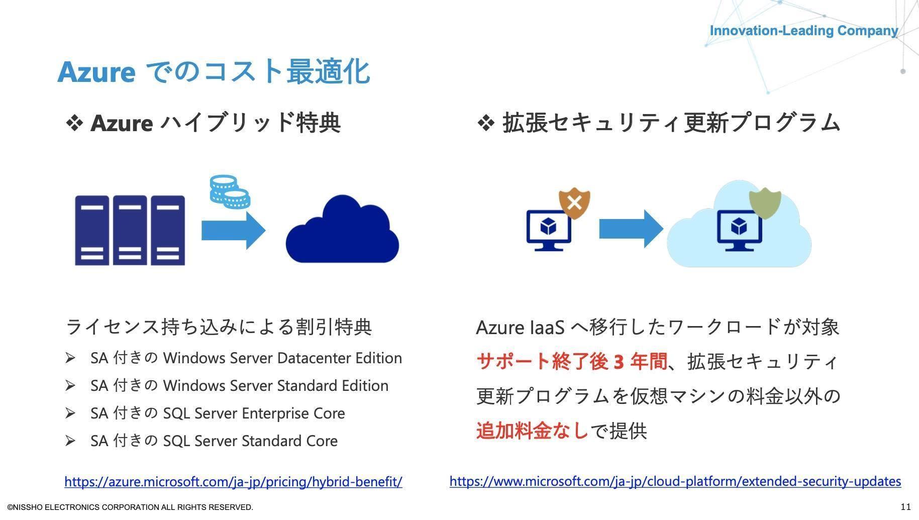 Azureでのコスト最適化