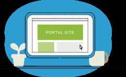 個人PCから社内システム、 社内データにアクセスできる