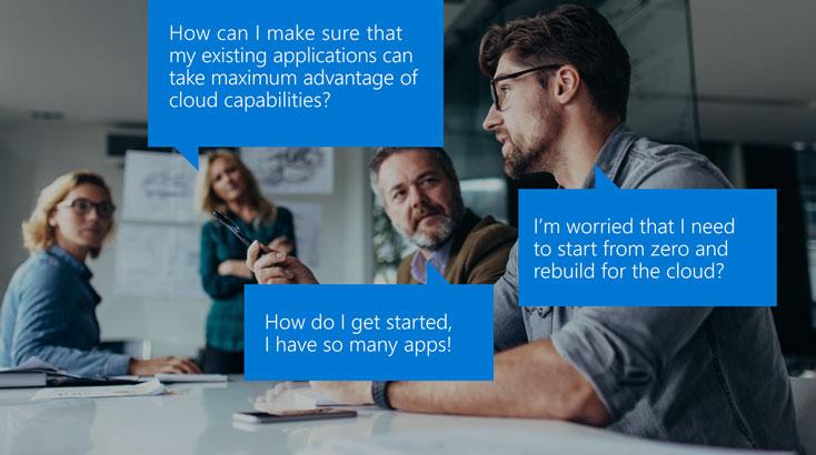 マイクロソフトの社内システムをオンプレから Azure に移行した事例